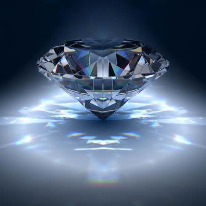 Kristály dekoráció - Kristály gyémántok