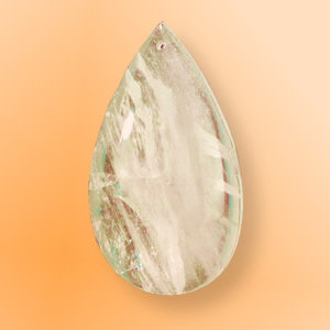 Hegyikristály csilláralkatrész