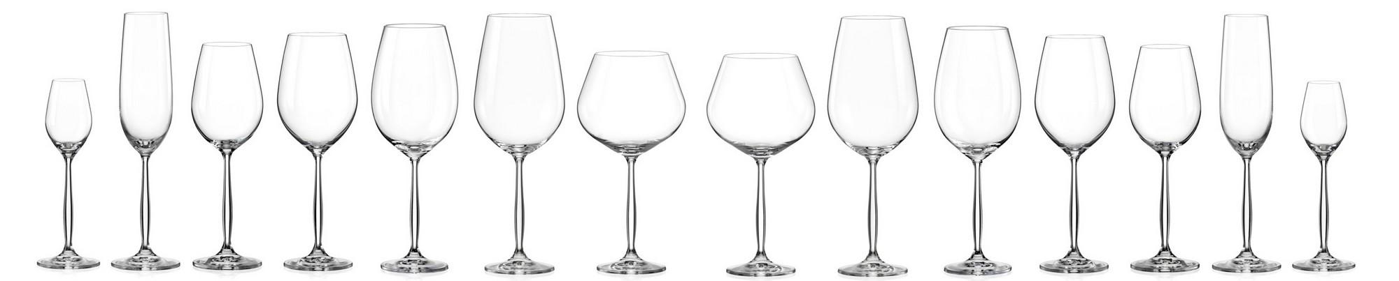 Asztali kristály termékek - Poharak